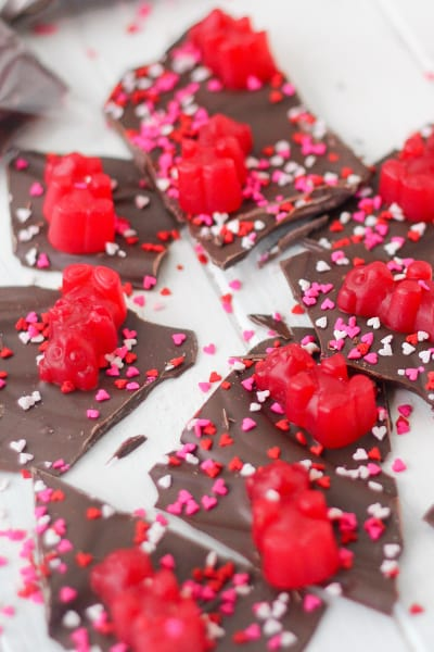 Valentine's Day Chocolate Bark Pic