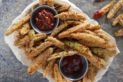 Baked Spicy Tindora Fries Recipe