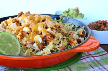 Skillet Mexican Chicken & Rice: A Weeknight Winner!