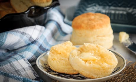 Homemade Cream Biscuits Image