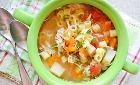 Sicilian Chicken Soup Recipe