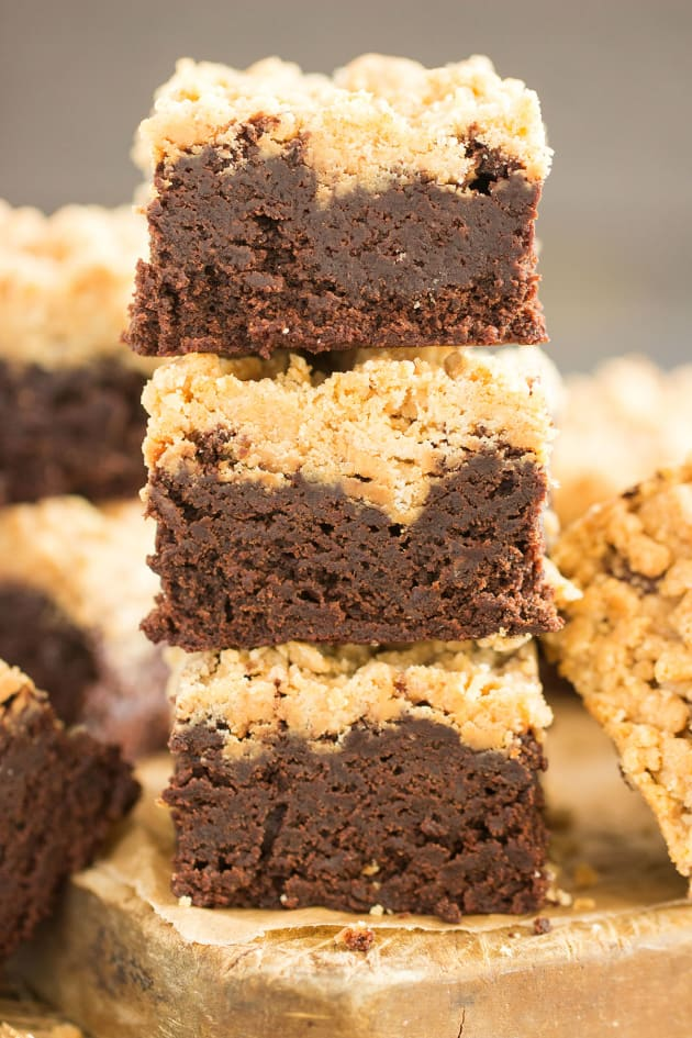 Peanut Butter Streusel Brownies Picture