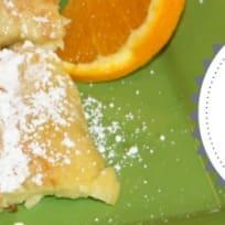 Citrus Puff Pancakes ~Dairy Free~
