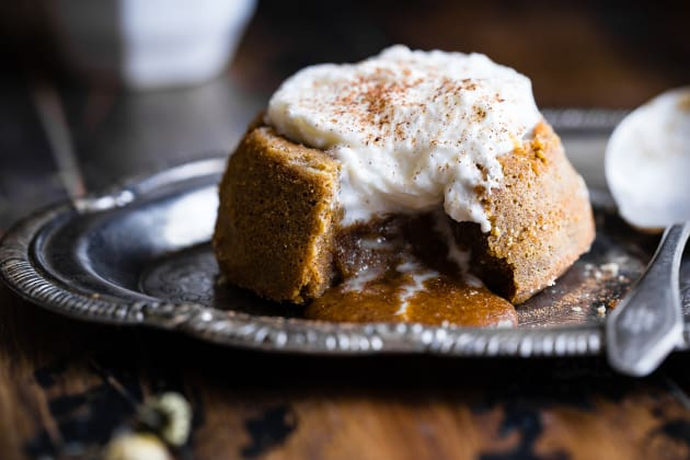 Paleo Pumpkin Lava Cakes Photo