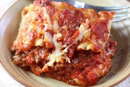 Ina Garten Lasagna