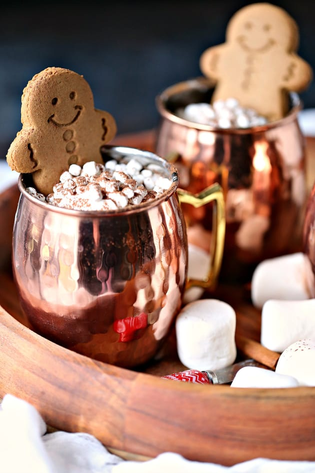 Gingerbread Hot Chocolate Pic