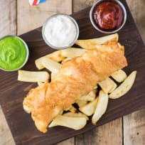 British Fish & Chips Recipe