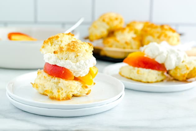 Gluten Free Peach Shortcake Photo