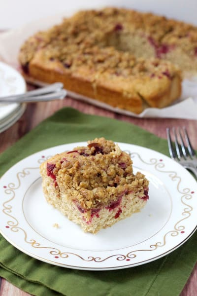 Cranberry Streusel Coffee Cake Picture