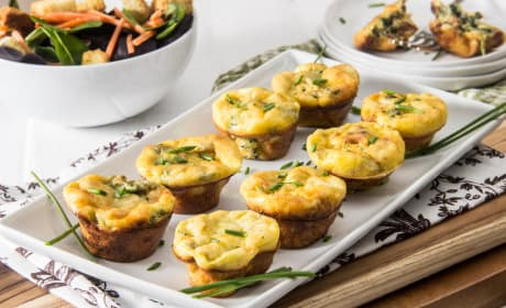Spinach Artichoke Mini Frittatas Recipe