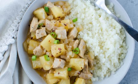 Paleo Pork Pineapple Stir Fry Photo