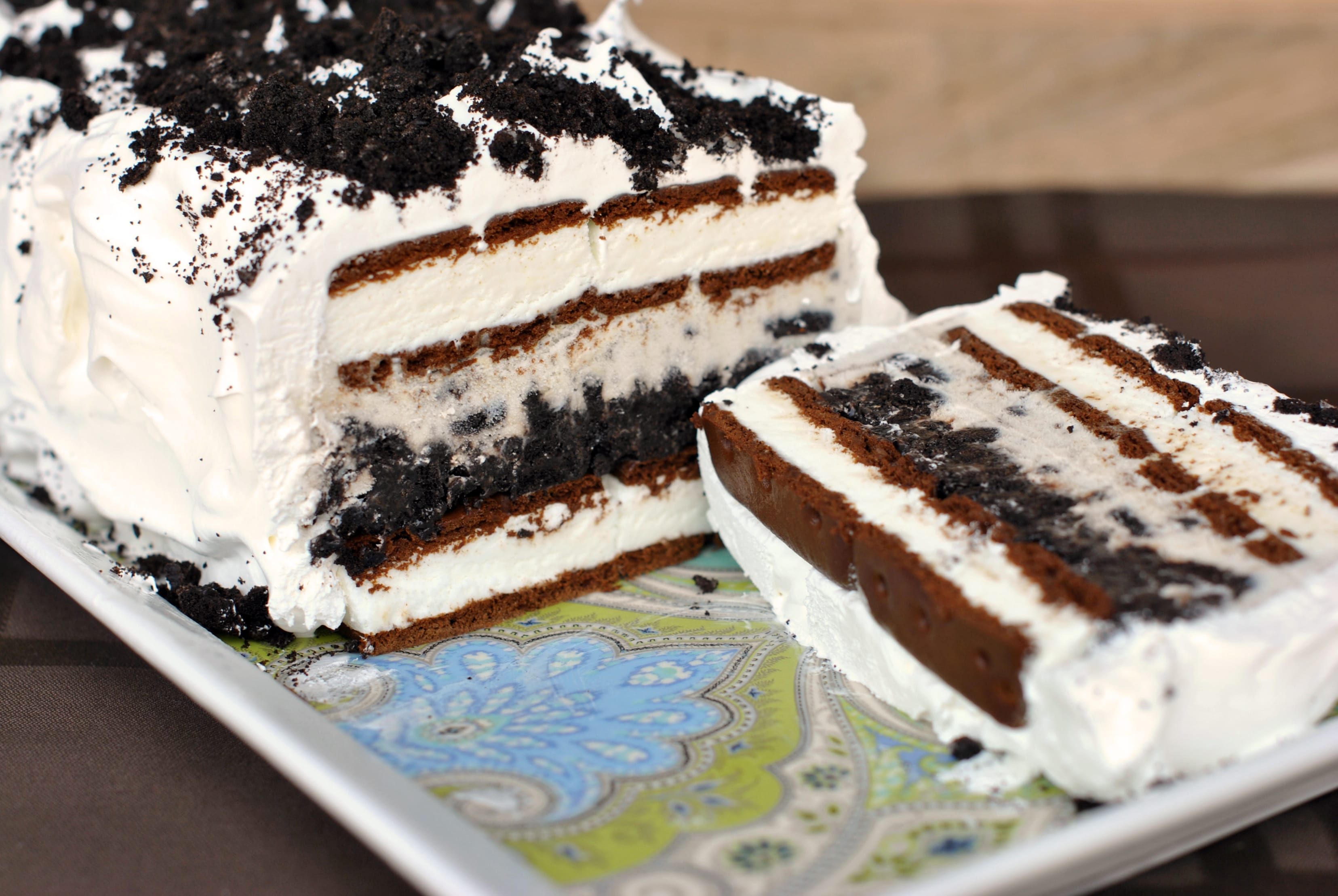 Oreo Ice Cream Cake Easy Frozen Fun Food Fanatic