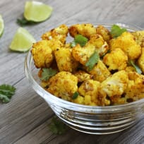 Turmeric Roasted Cauliflower Recipe