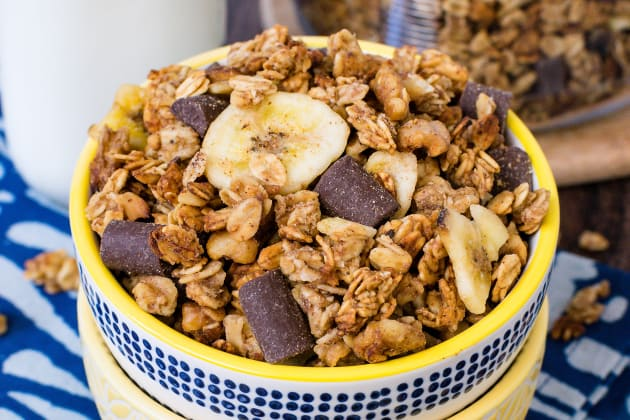 Peanut Butter Banana Chocolate Chunk Granola Photo