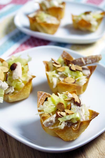 Asian Chicken Salad Cups Picture