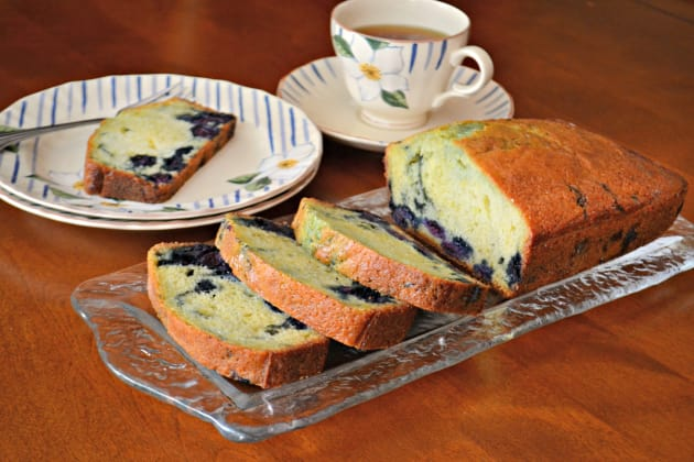 Lemon Blueberry Bread Photo