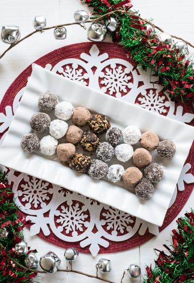 Chocolate Rum Balls Pic