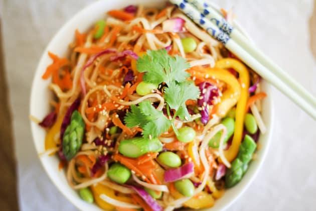 Spring Vegetable Pad Thai Photo