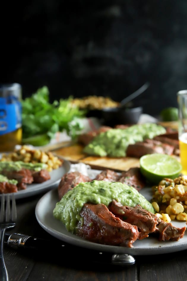 Chipotle Flank Steak with Avocado Salsa Pic