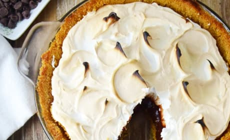 S'mores Pie Picture