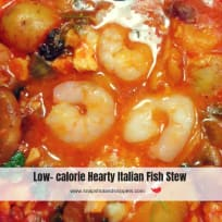 Hearty Italian Fish Stew