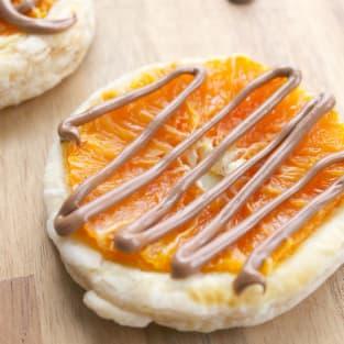 Chocolate orange tarts photo