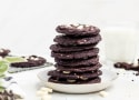 Peppermint Chocolate Cookies