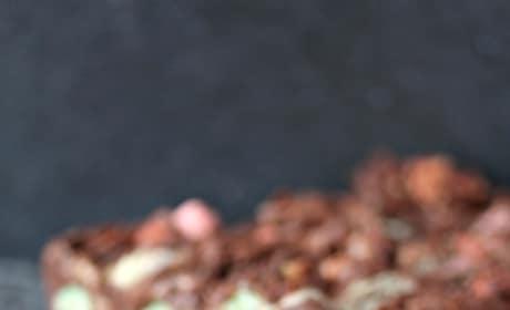 Chocolate Marshmallow Bars Pic