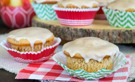 Glazed Apple Cider Muffins Recipe