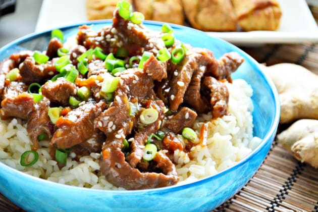 Instant Pot Mongolian Beef Photo