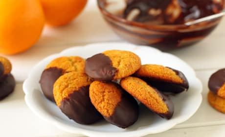 Gluten Free Chocolate Orange Cookies Recipe