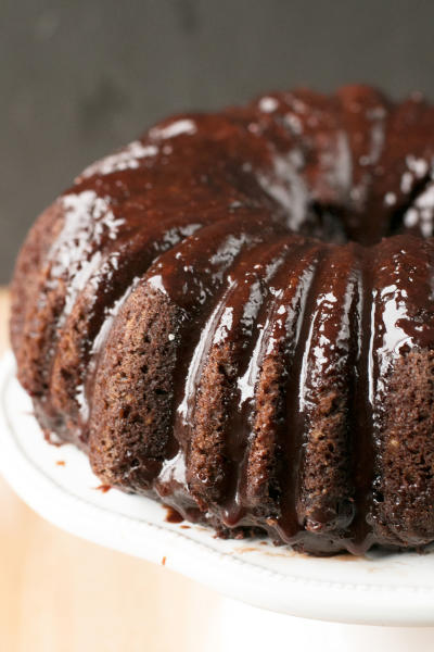 Dark Chocolate Avocado Cake Pic