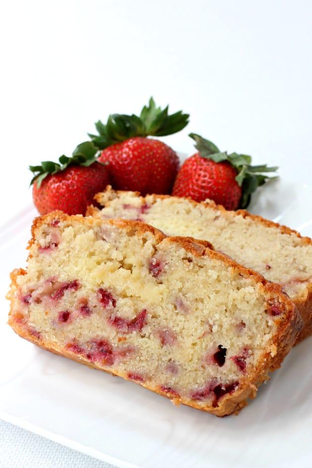 Food Network Strawberry Pound Cake