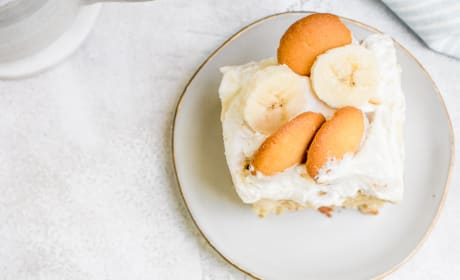 Banana Pudding Poke Cake Pic