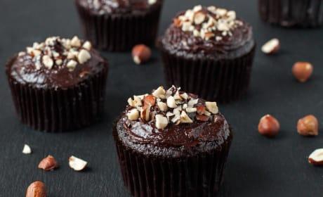 Gluten Free Chocolate Hazelnut Cupcakes Recipe