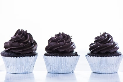 Gluten Free Double Chocolate Cupcakes