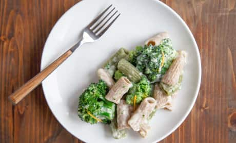 Alfredo Pasta for Two Recipe
