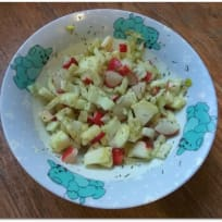 Quick Radish Fennel Salad