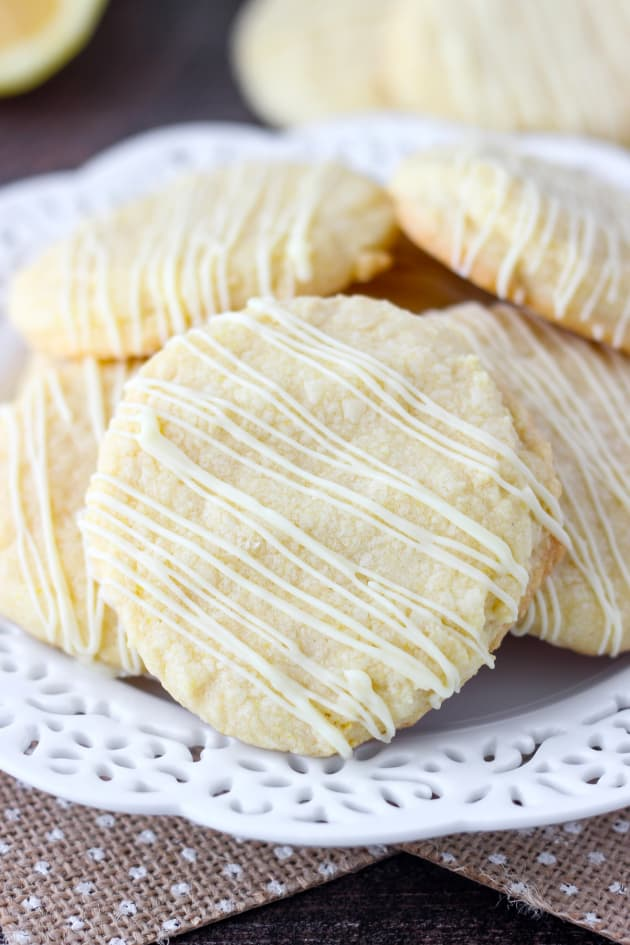 Lemon Cake Mix Cookies Image