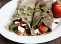 Strawberry Spinach Buckwheat Crepes