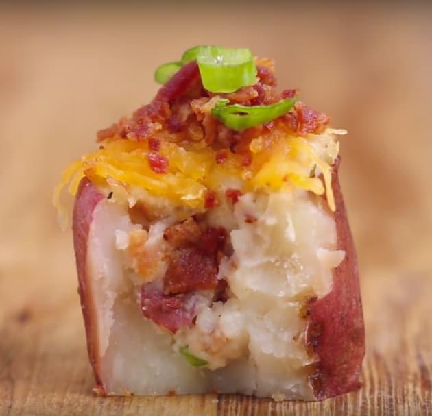 Mini Twice-Baked Potato