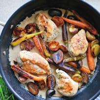 One Pot Chicken Vegetable Skillet Recipe
