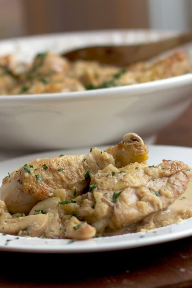 Chicken Calvados Picture