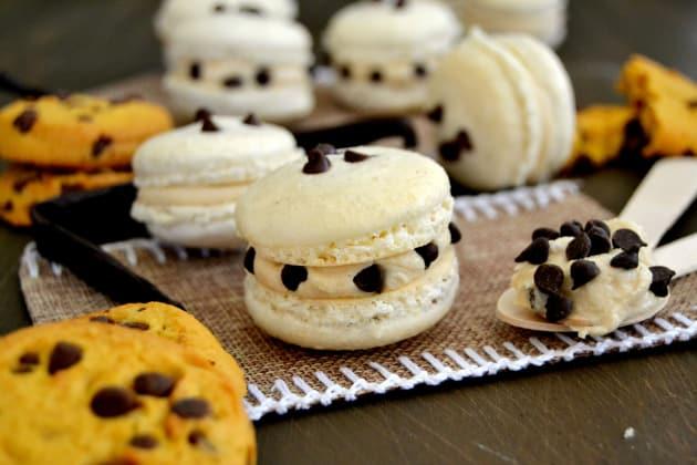 Cookie Dough Macarons Photo