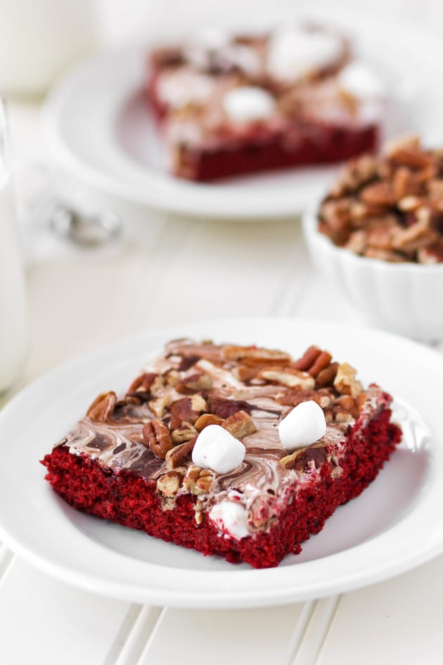 Red Velvet Mississippi Mud Cake Image