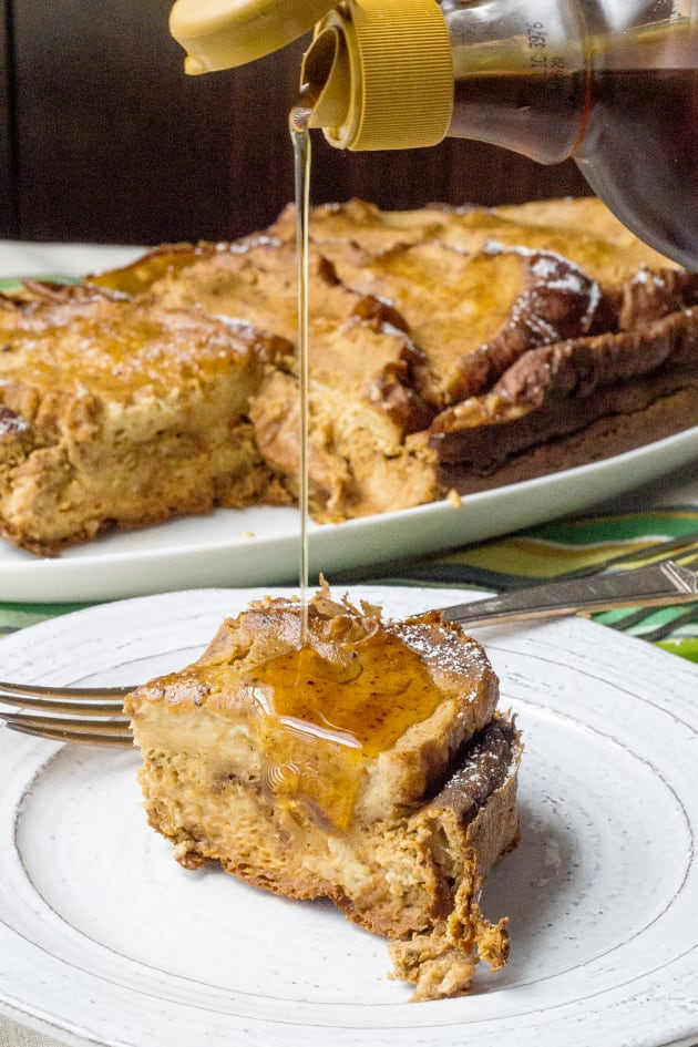Slow Cooker Pumpkin French Toast Image