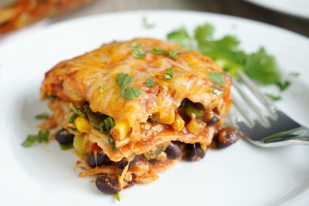 Vegetarian Enchilada Casserole Photo