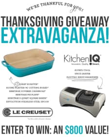 Reader Appreciation Giveaway from Le Creuset & KitchenIQ