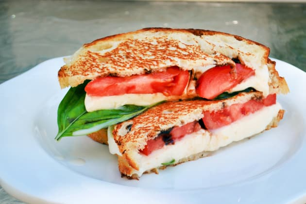 Grilled Caprese Sandwich Photo