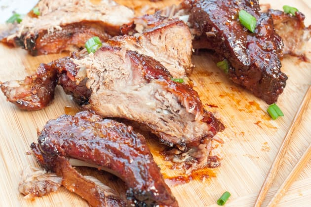 Gluten Free Sticky Asian Ribs Pic